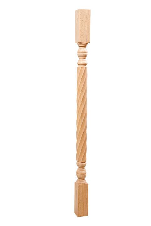 Купить деревянную лестницу из массива в частный дом, цена