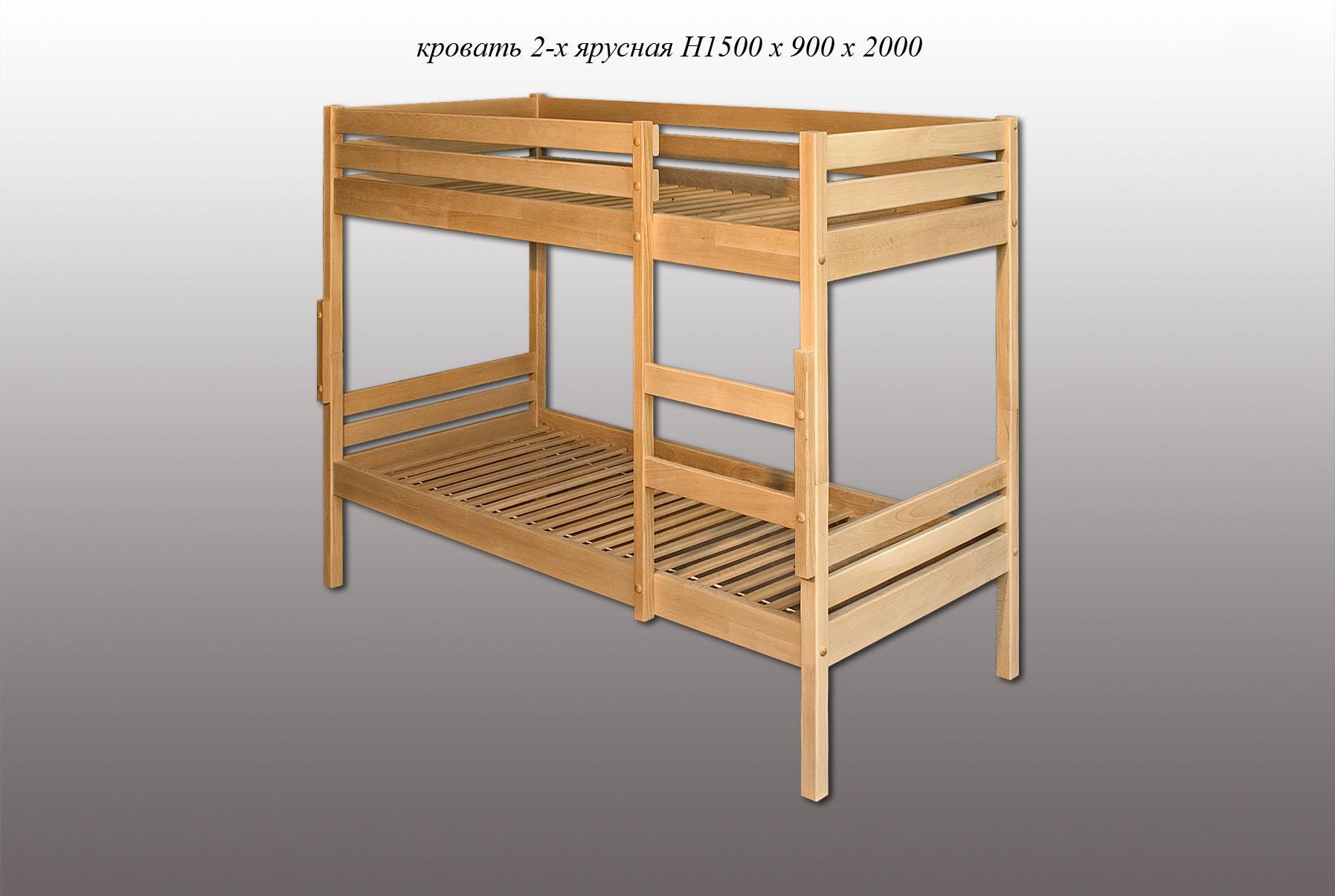 Размеры двухъярусной кровати для детей фото