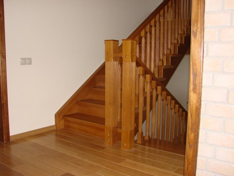 Классические деревянные лестницы - Дом бука