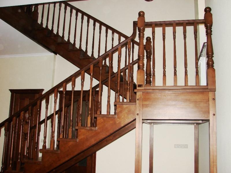 Деревянные балясины для ограждения лестниц - цены и